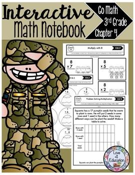 Interactive Math Notebook Go Math Third Grade Chapter 4