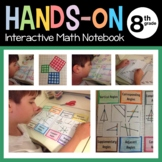 Interactive Math Notebook Eighth Grade Common Core with Sc