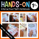 Interactive Math Notebook First Grade Common Core with Sca