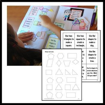 Interactive Math Notebook First Grade Common Core with Scaffolded Notes