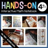 Interactive Math Notebook Fourth Grade with Scaffolded Notes + Google Slides