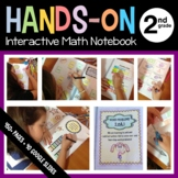 Interactive Math Notebook Second Grade Common Core with Scaffolded Notes