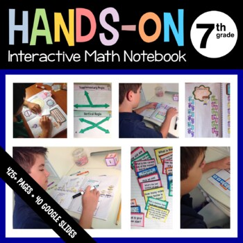 Interactive Math Notebook Seventh Grade Common Core