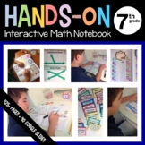 Interactive Math Notebook Seventh Grade Common Core with Scaffolded Notes