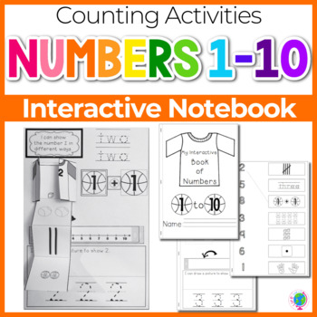 Interactive Math Notebook: Interactive Mini-Book for Numbers 1-10