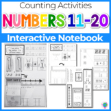Interactive Math Notebook: Interactive Mini-Book for Numbers 11-20