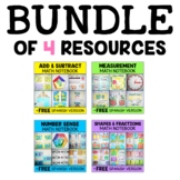 Interactive Notebooks - Math Bundle