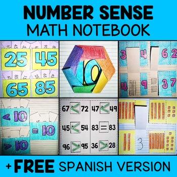 Number Sense Math Interactive Notebook Activities