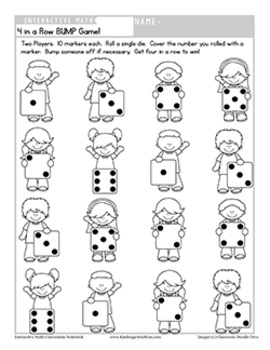 Interactive Math Notebook: Kindergarten