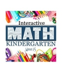 Interactive Math Notebook: Kindergarten Weeks 1 - 5