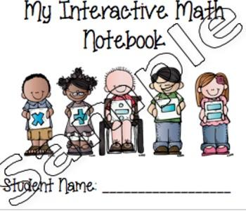 Interactive Math Notebook Label