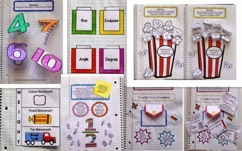 Math Interactive Notebook - BUNDLE - ALL 4th Grade Common Core Standards