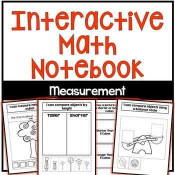 Interactive Math Notebook: Measurement