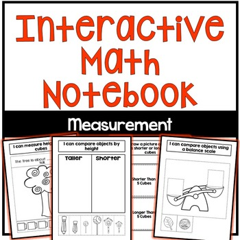 Interactive Math Notebook: Measurement