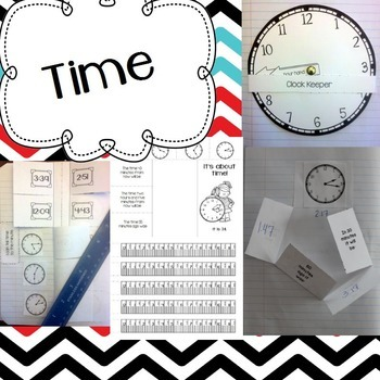Measurement and Data Interactive Math Notebook for 3rd Grade