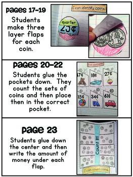 Interactive Math Notebook { Money }