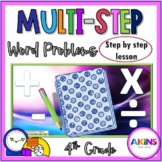 Interactive Math Notebook Multi-Step Word Problems
