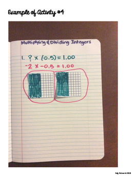 Interactive Math Notebook: Multiplying & Dividing Integers {Grade 7}