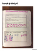 Interactive Math Notebook: Non-Proportional Relationships