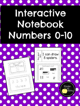 Interactive Math Notebook Numbers 0-10