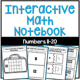 Interactive Math Notebook: Numbers 11-20
