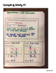 Interactive Math Notebook: Operations with Decimals {Grade 6}