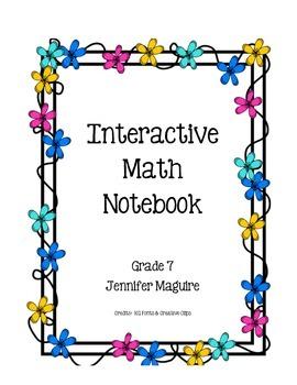 Interactive Math Notebook Part 2
