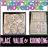 Interactive Math Notebook: Place Value & Rounding- Common
