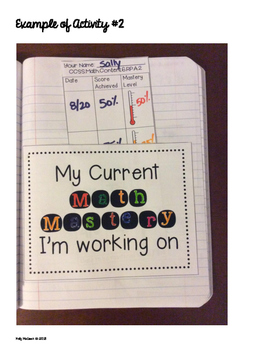 Interactive Math Notebook: Progress Monitoring RTI Activities {Grade 7}