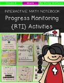 Interactive Math Notebook: Progress Monitoring RTI Activities {Grade 8}