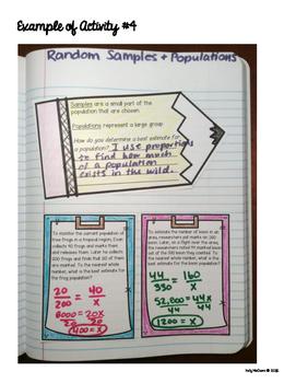 Random Samples and Populations Activities
