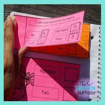 Interactive Math Notebook: September