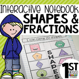 Interactive Math Notebook { Shapes and Fractions }