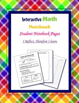 Interactive Math Notebook [Student Pages]