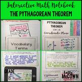 Interactive Math Notebook: The Pythagorean Theorem {Grade 8}