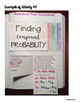 Interactive Math Notebook: Theoretical Probability & Simul
