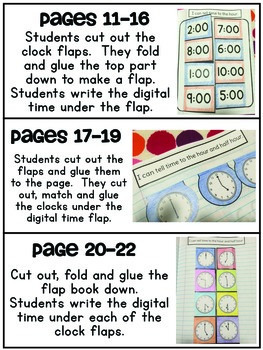 Interactive Math Notebook { Time }