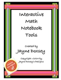 Interactive Math Notebook Tools