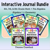 Interactive Math Notebook - Upper Grade Bundle