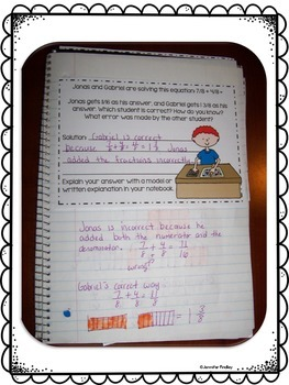 Interactive Math Notebook: Word Problems {4th Grade: All Standards}