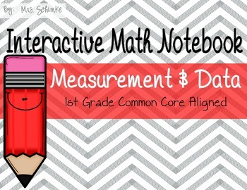 Interactive Math Notebook for 1st Graders: Bundle Pack