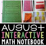 Interactive Math Notebook (August)