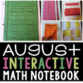 Interactive Math Notebook (August)