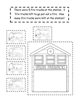 Interactive Math Notebook for Fire Safety