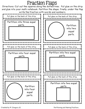 Interactive Math Notebook for January for Second Grade