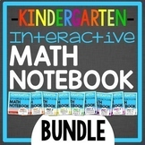 Interactive Math Notebook for Kindergarten BUNDLE: Daily e