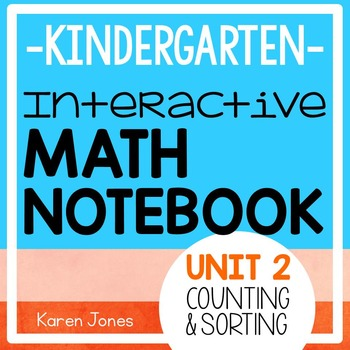 Interactive Math Notebook for Kindergarten {Unit 2: Counting & Sorting}