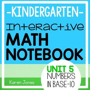 Interactive Math Notebook for Kindergarten {Unit 5: Number