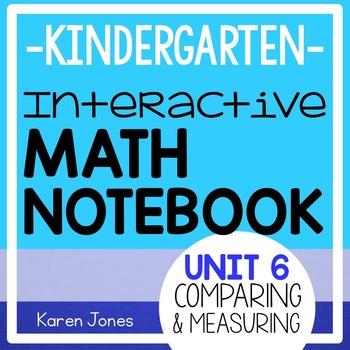 Interactive Math Notebook for Kindergarten {Unit 6: Compar
