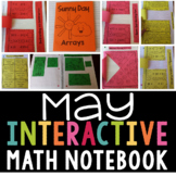 Interactive Math Notebook for May (Second Grade)